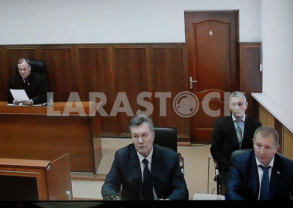 Viktor Yanukovich in a Russian court — Image 48081