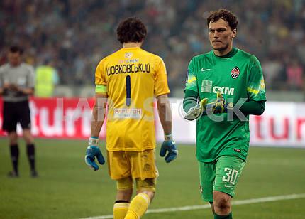 Alexander Shovkovsky and Andrey Pyatov
