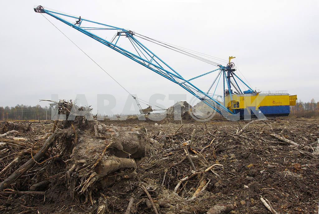 Walking excavator at Irshansky GOK — Image 48165