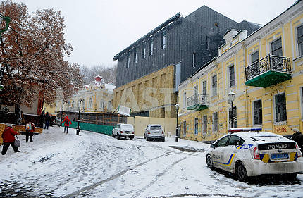 The new building of the Podol Theater in Kiev