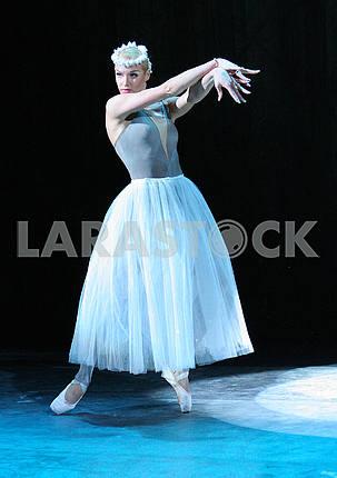 Ballerina Anastasia Volochkova performs