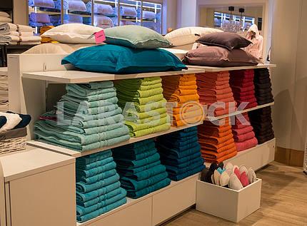 Department of bed linen in TSUM