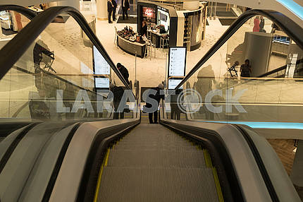 Escalator in the Central Department Store