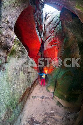 Силуэты альпинистов в Бубныще