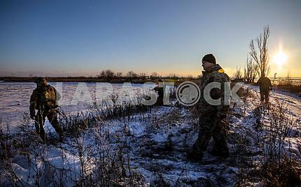 Петр Порошенко во время рабочей поездки в Донецкую обл