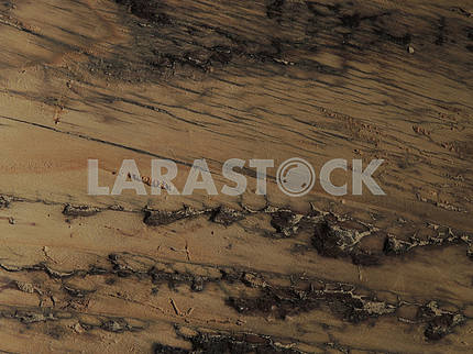 Rough wooden surface