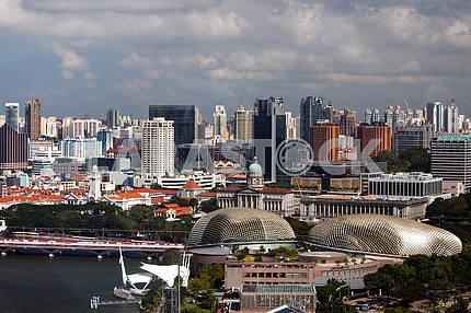 Singapore height