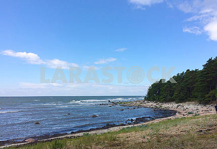 Остров Хийумаа, пейзаж