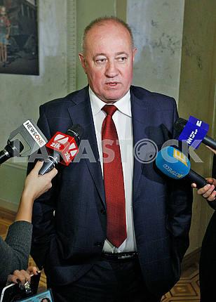 Viktor Chumak,portrait on a belt