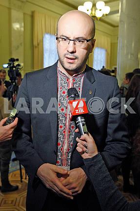 Sergey Rudyk,portrait on a belt