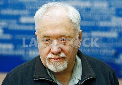 Semyon Gluzman,horizontal portrait