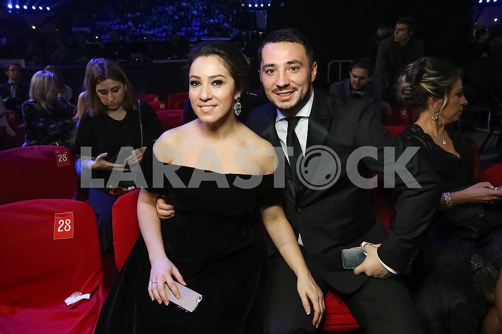 Natalka Karpa at the award ceremony of the M1 Awards 2016 — Image 48757