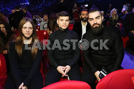 The Hardkiss at the award ceremony of the M1 Awards 2016