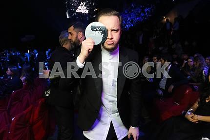 Артём Гагарин на церемонии награждения M1 Awards 2016