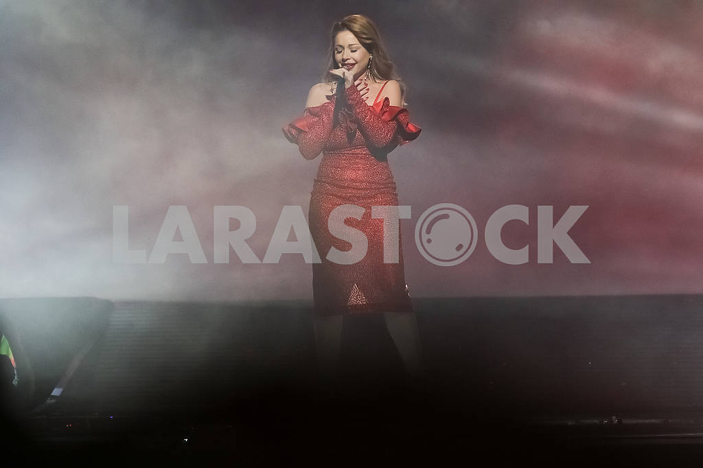 Tina Karol at the award ceremony of the M1 Awards 2016 — Image 48809