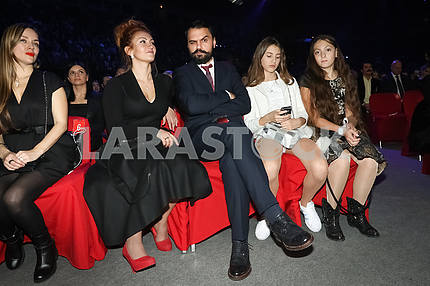 Mikhail Yasinsky at the award ceremony of the M1 Awards 2016