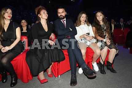 Mikhail Yasinsky at the award ceremony of the M1 Awards 2016