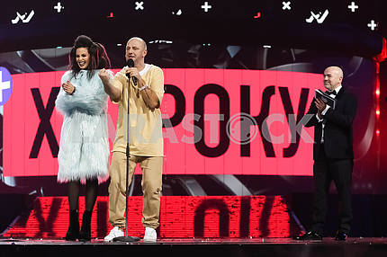Potap and Nastya at the awarding ceremony of the M1 Awards 2016