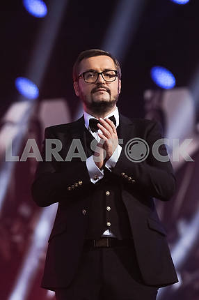 Alexander Ponomarev at the award ceremony of the M1 Awards 2016
