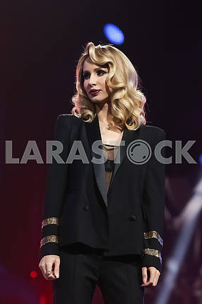 LOBODA at the award ceremony of the M1 Awards 2016