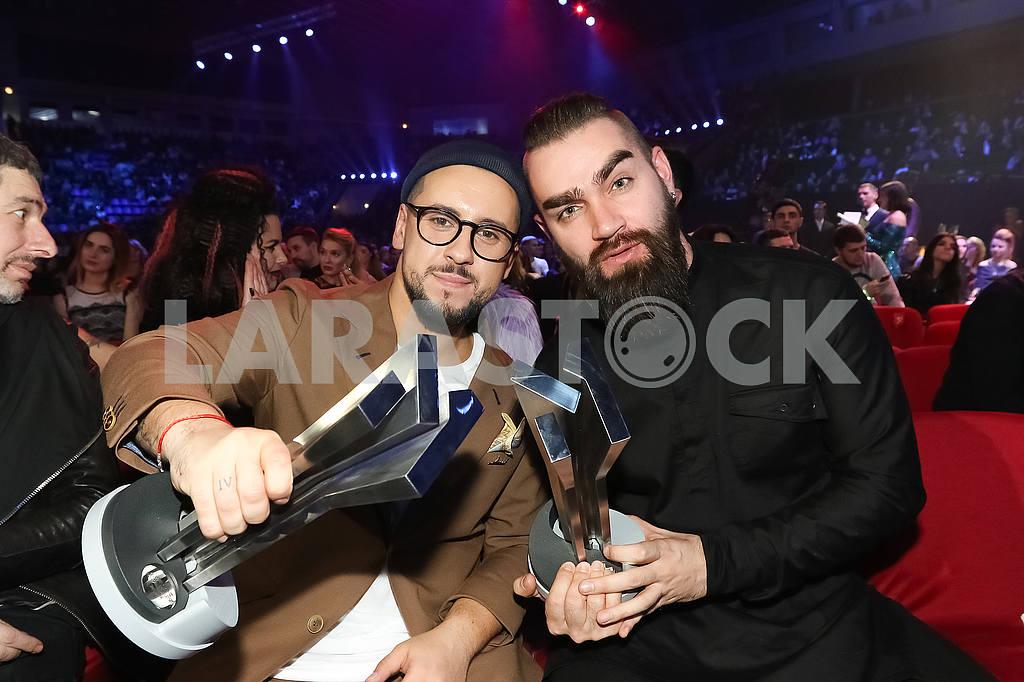 Monatik и Валерий Бебко на церемонии награждения M1 Awards 2016 — Изображение 48856