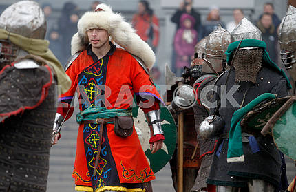 Participants in the reconstruction of the Battle for Kiev 1240