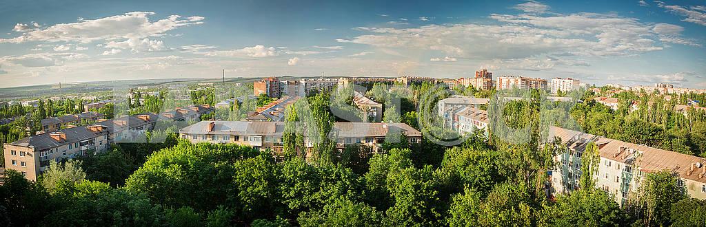 Kramatorsk, Panorama of the city. — Image 48978