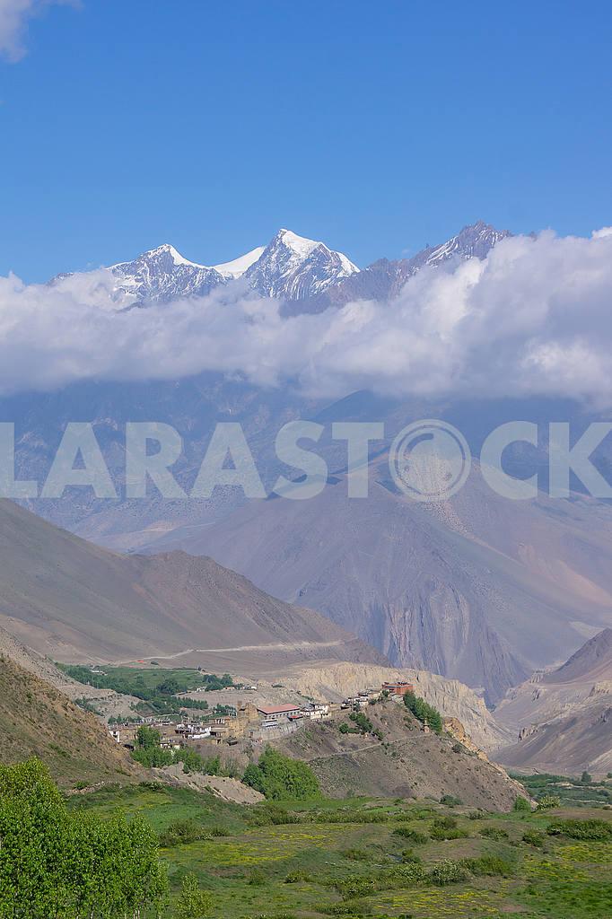 Mountain village in Nepal — Image 49130