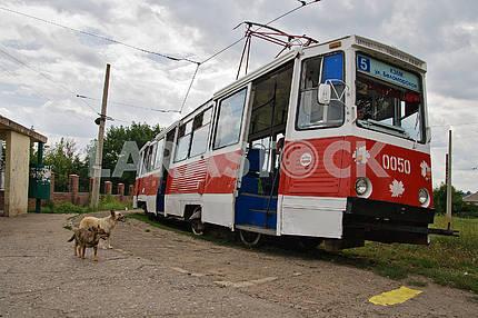 Краматорский трамвай №5