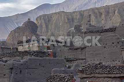 Mountain peaks in Nepal