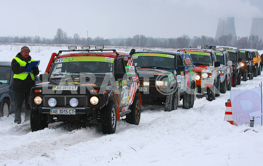 Kiev Rally Baja 2010, February 13 — Image 49372