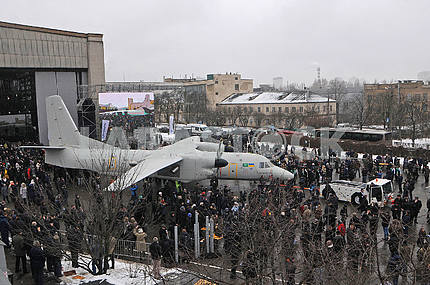 An-132D aircraft