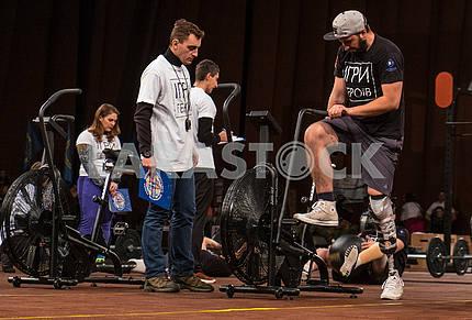 Соревнования по кроссфиту среди бойцов АТО