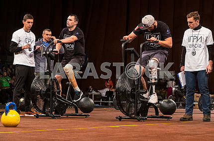 CrossFit competitions among amputees