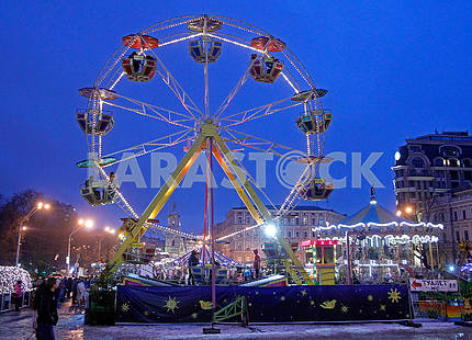 The Ferris Wheel at Mikhailovskaya Square