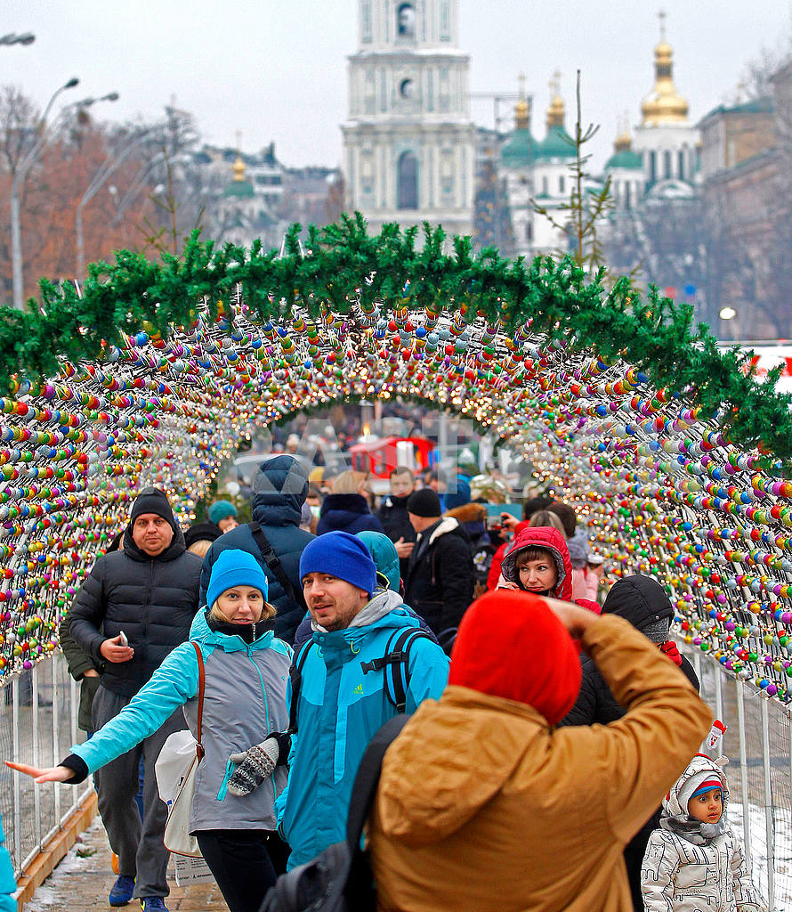 Celebrating Christmas in Kiev — Image 49548