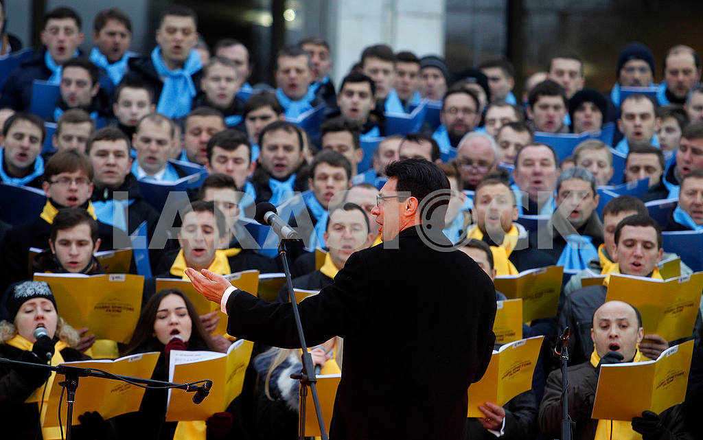Choir and conductor Alexander Khreschuk — Image 49556