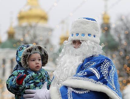 Saint Nicholas on the Sophia Square
