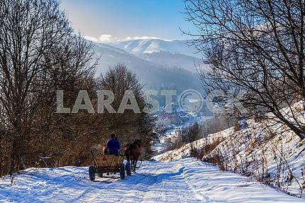 Winter in Carpathians