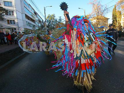 Участники парада из Красноильска