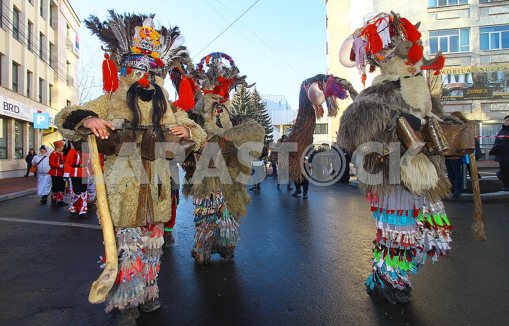 Parade of Malachines in Suceava — Image 49596