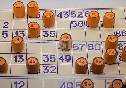 Lotto Board Game