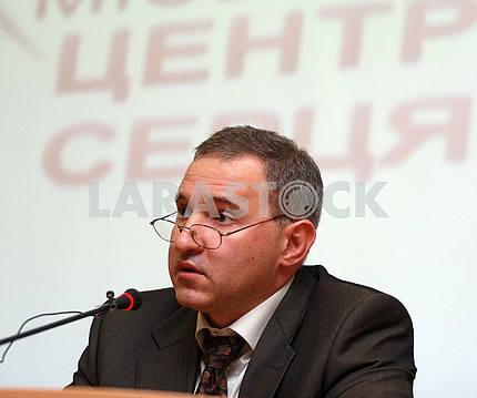 Heart Center Director Boris Todurov