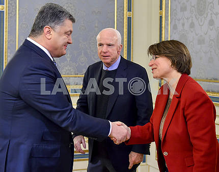 Peter Poroshenko and John McCain