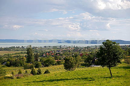 Landscape near Lake Balaton
