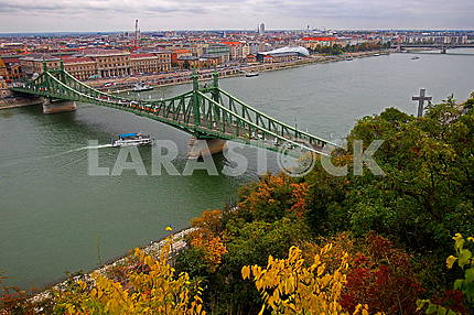 The Bridge of Freedom in Budapest
