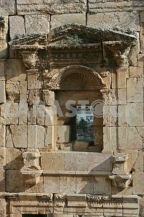 Ruins of the ancient city of Jarash