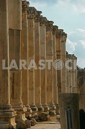 Руины древнего города Джараша