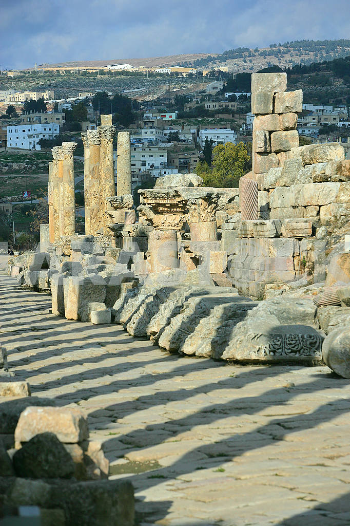The ruins of the ancient city of Jarash — Image 49861