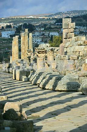 Развалины древнего города Джараша